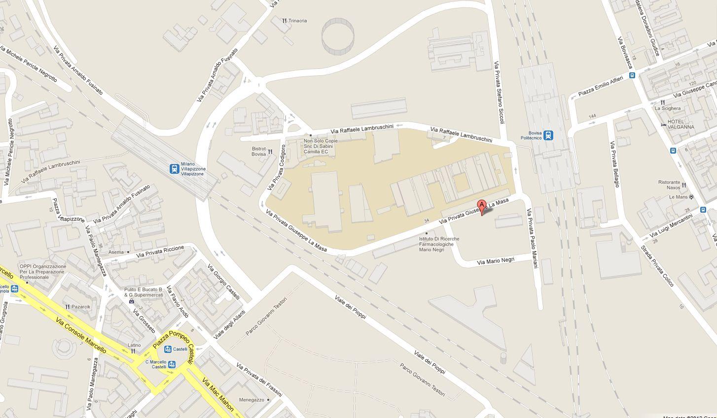 Sitec dove siamo - Milano porta garibaldi passante mappa ...